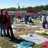 Imola spectators end of race