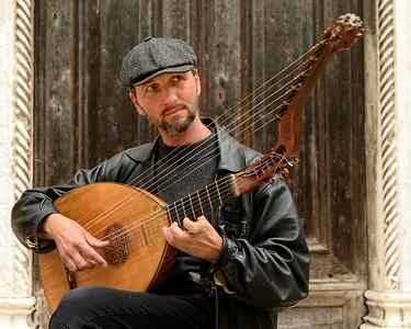 Street musician, Dorsoduro