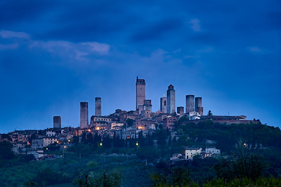 San Gimignano at Sunrise
