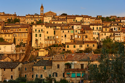 Montalcino in Morning Light
