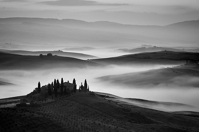 Tuscan Countryside and Villa