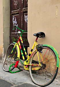 Florence - Colorful Bicycle