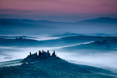 Tuscan Countryside and Villa 2