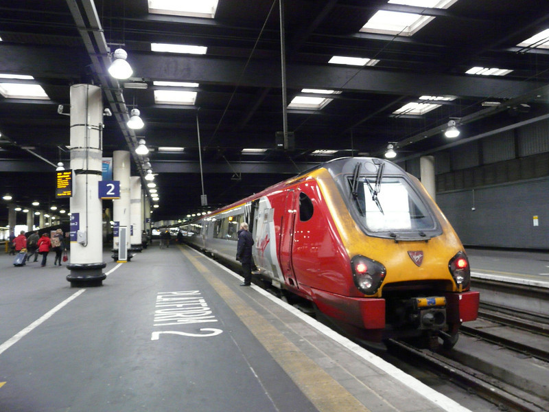 135 my Virgin Rail train to Holyhead, Wales