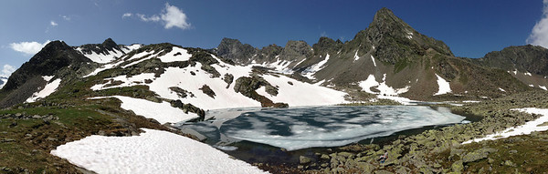 Rinnensee, Stubaier Alpen (iPhone 5 with panorama function, no post processing)