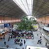 inside Atocha station