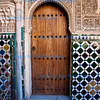 Decorative Doorway, Alhambra, Granada