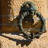 West wall of Palacio Carlos V, Alhambra, Granada
