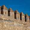 Turreted walls  of La Alcazaba, Almeria