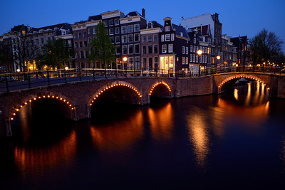 Amsterdam,  Eastern Canal Ring at Twilight 1