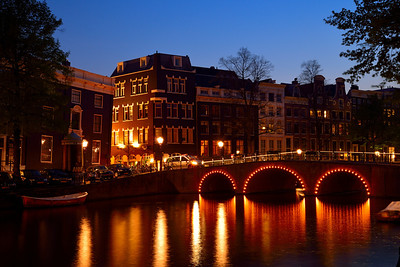Amsterdam,  Eastern Canal Ring at Twilight 2
