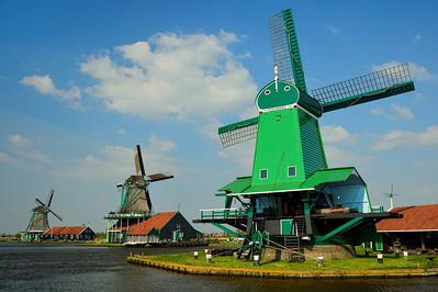 Zaansa Schans, windmills 1