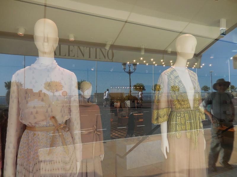 Valentino window display