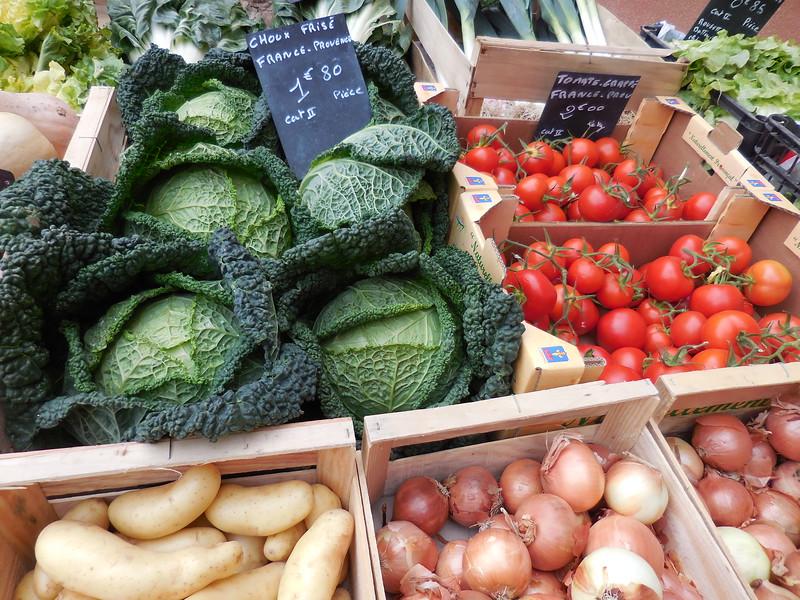 Roussillon veggies