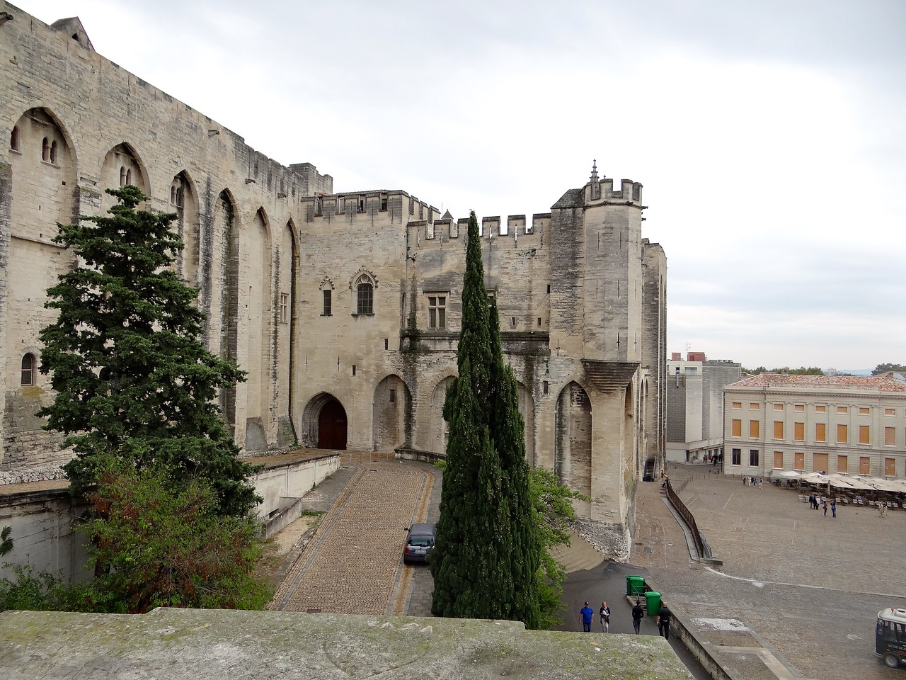 The Vatican of the 1300's in Avignon