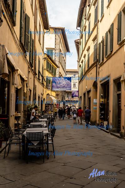 Quiet street, Cortona