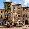 Central Plaza, San Gimignano