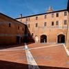 Interior quadrangle, Abbazia di Monte Olivetto Maggiore