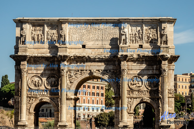 The Arch of Constatine, Rome