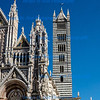 Siena Cathedral and adjacent tower