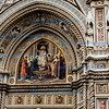Florence, Duomo decorated door