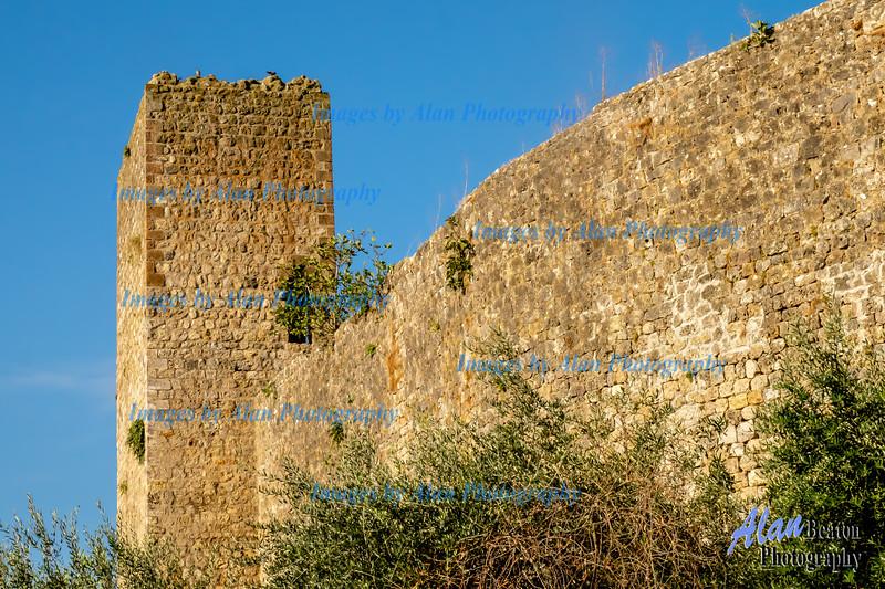 Outside the City Walls, Monteriggioni