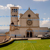 Basilica San Francesco, the burial place of Saint Francis of Assisi