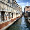 A long canal, Venice