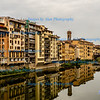 Florence, View from Ponte Vecchio across River Arno