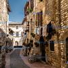City laneway, Assisi