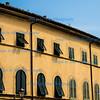 Shuttered windows, San Miniato