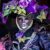 Multi-colored Carnival costume