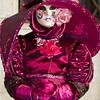 Costumed Carnival participant