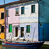 Fishing boat in Burano