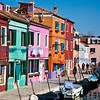 Colourful scene in Burano