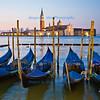 Gondolas in Bacino di San Marco