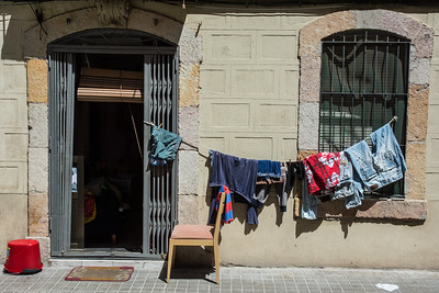 Barcelona Laundry Day