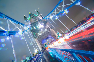 Rainy Tower Bridge
