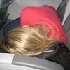 "Casey sleeping on the plane!  To see Casey's photos from this trip from Facebook <a href=""http://caseyfeldman.smugmug.com/Caseys-Facebook-Downloads/2009/Disney/10981506_eMsVc#728297957_3tQko""> click here. </a>"