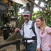 Joel and Casey, Swiss Family Robinson House - Magic Kingdom