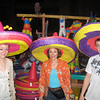 Mexico in Epcot. The hats are really becoming!