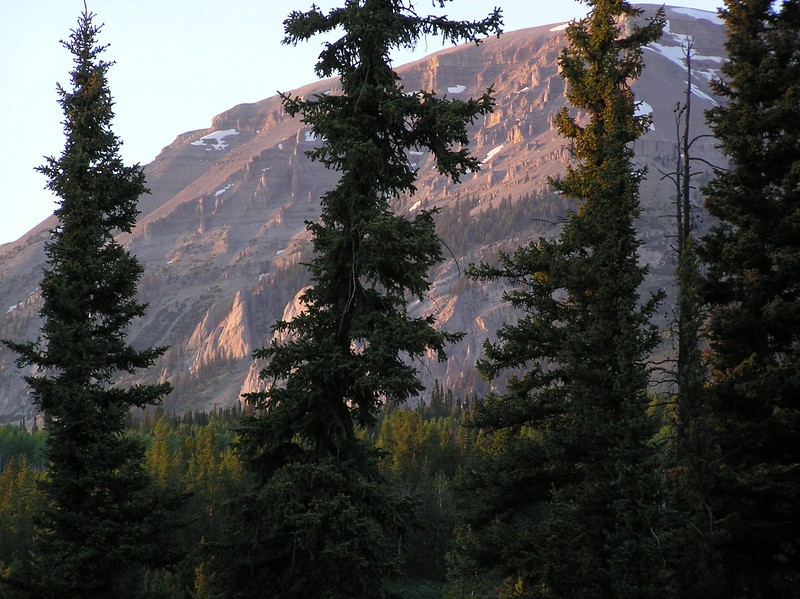 View from the campsite.