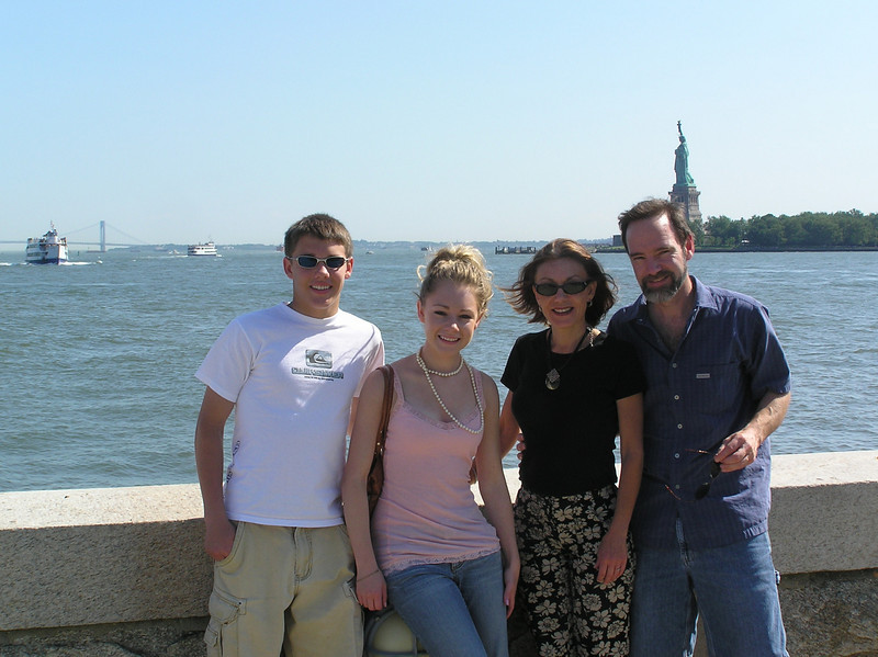 The family - Ellis Island.