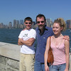 Brett, Joel and Casey - Ellis Island.