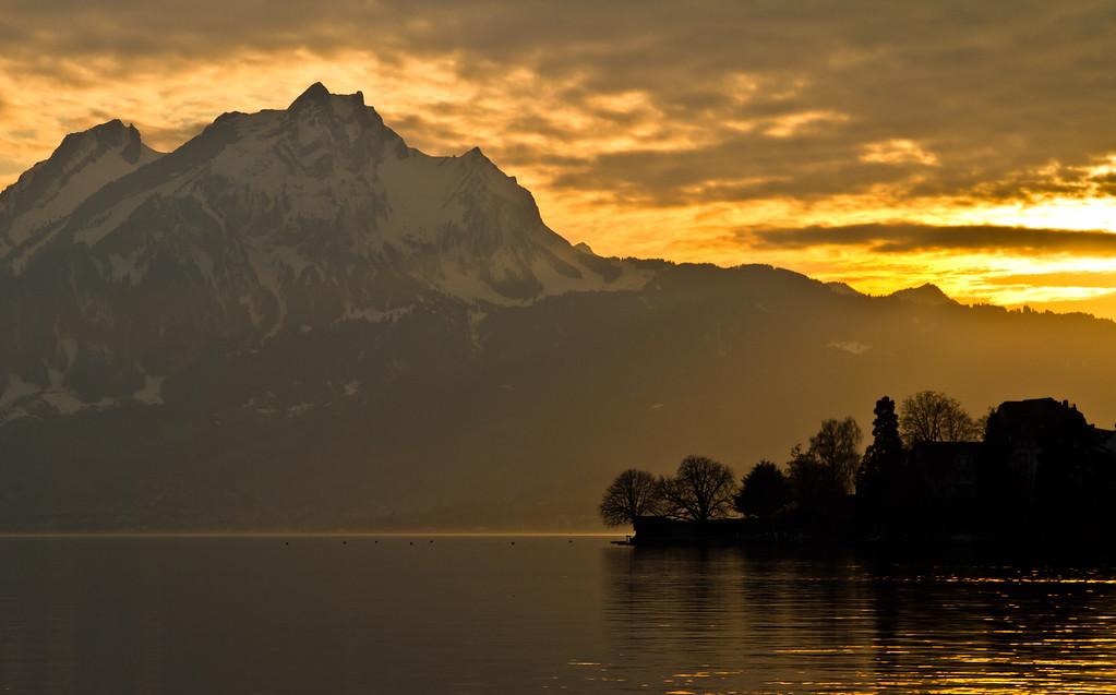 Golden golden hour