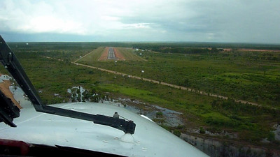 N178SG Final Approach Weipa, Queensland, Australia (YBWP RWY 12)