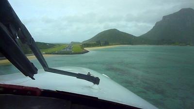 N178SG Final Approach Lord Howe Island, Australia (YLHI)