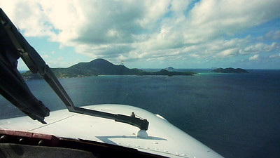 NZ178SG landing approach to YLZI Lizard Island/Australia