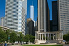 Wrigley Square and Millennium Monument
