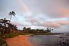 Sunset-Rainbow on Baby Beach 6786